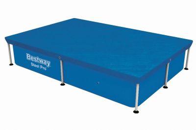 Bestway Flowclear cover steel pro rechthoek 221
