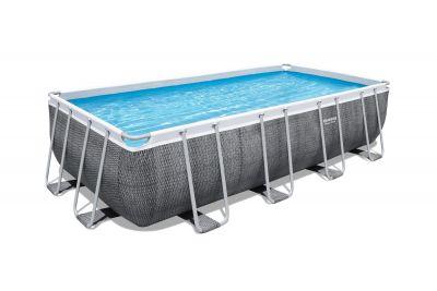 Bestway Power Steel 16' x 8' x 48/4.88m x 2.44m x 1.22m Rectangular Pool