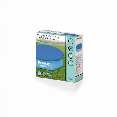 Bestway Flowclear cover fast set rond 244