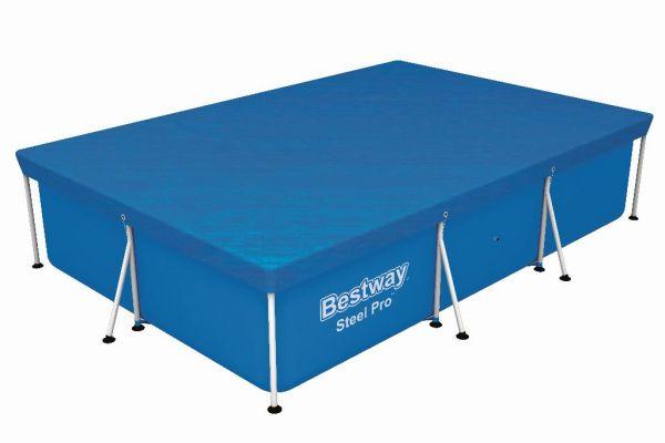 Bestway Flowclear cover steel pro rechthoek 300