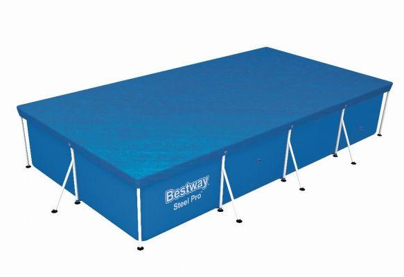 Bestway Flowclear cover steel pro rechthoek 400