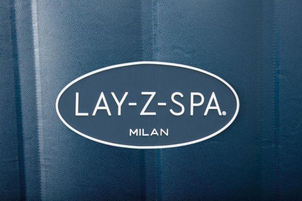 Bestway Lay-Z-Spa Milan Airjet Plus incl Freeze Shield en WiFi module 196 x 71 cm