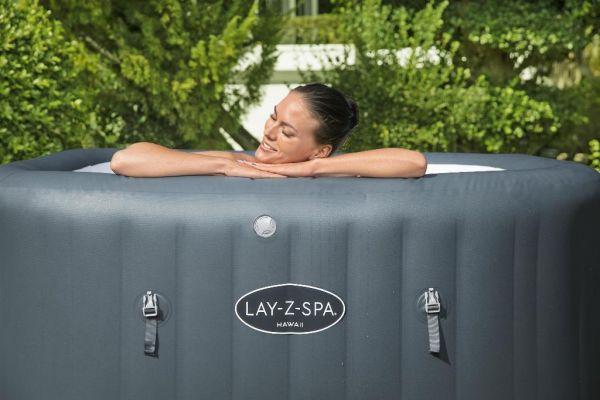Bestway Lay-Z-Spa Hawaii HydroJet Pro incl Freeze Shield 180 x 180 x 71 cm